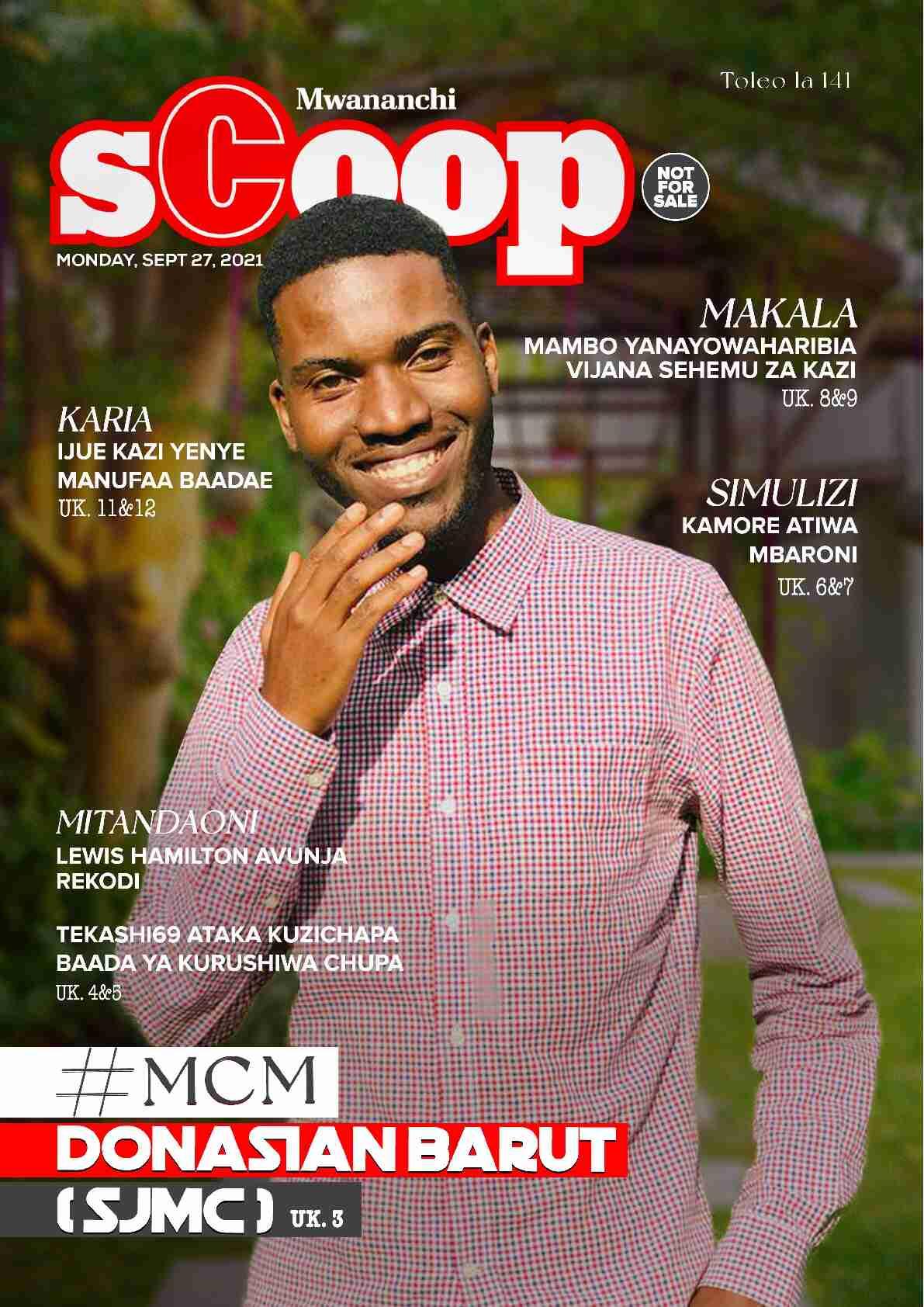 #MCM: Donasian Baruti(SJMC)